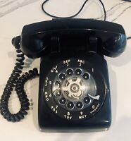 VINTAGE 1967 Western Electric Rotary Telephone L/M 500 Blk Color