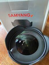 Samyang 8010 AF 14 mm F2.8 Autofocus Lens for Canon EF - Black Boxed