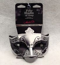 Fifty Shades Of Grey Masks On Twin Pack Ana Secret Prince Masquerade Erotic Gift