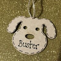 Personalised dog face christmas tree decoration pet gift bauble memory memorial