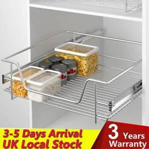 Stainlesss Steel Pull Out Kitchen Basket Sliding Storage Basket Drawer 500 mm
