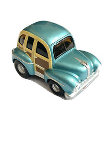 Vtg Ertl Little Muscle Car 1946 Ford Woody Diecast Metal Collectible 2001 Toy