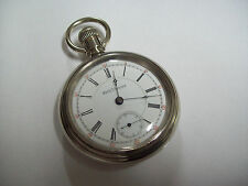 Scarce 18s Seth Thomas Grade 506 Adjusted Temp and Position RR Pocket Watch