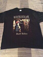 1BURZUM Daudi Baldrs Shirt XL,Gorgoroth,Urgehal,The Chasm,Urgehal,Inquisition