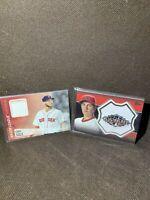 2013 Topps ASG Patch Trevor Bauer Diamondbacks Chris Sale Red Sox MLB Card x2