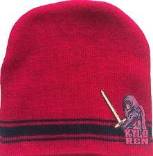 Disney Star Wars Kylo Ren Beanie Cap Skully Knit Hat Unisex Winter Wear Kids New