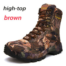 Outdoor Camouflage Desert Combat Tactical Military Boots Men Hiking Hunting Boot
