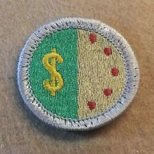 BSA PERSONAL MANAGEMENT Merit Badge Type H (SILVER BORDER) (72-02) B00145