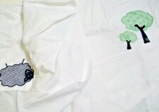 New Pottery Barn Kids Farmpatch Trees Lamb Crib SHEET toddler bed