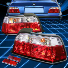 For BMW 92-99 E36 3-Series 2DR Chrome Full LED Rear 3rd Third Brake Tail Light