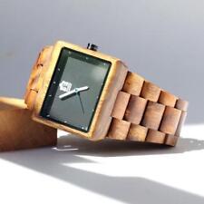 Face Premium Quality Free Shipping Beautiful Koa wood watch Black Square