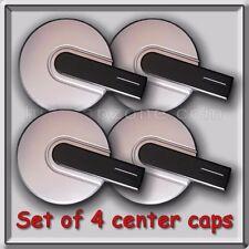 Silver Black Hummer H3 Center Caps Hubcaps Fits 2007-2008 Stock OEM Wheels Set 4