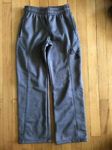 Under Armour COLDGEAR Loose Fit Sweat Pants Youth Small YSM 1259695 Gray Boys