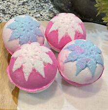 LUSH Snow Fairy Regular Bath Bombs X 4 Winter 2020 Fresh