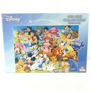 Disney Collage Animated Movie Character Jigsaw Puzzle 1000 Pieces by Crown