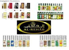 Al Rehab (3 x 6ml) mix and match perfume oils from list.