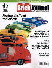 Brickjournal Magazine #38 for Lego Enthusiasts of All Ages TwoMorrows Feb 2016