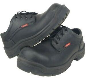 Red Wings Work Shoes 6633 Black Leather Oxford Electric Hazard Safety Toe Mens 8