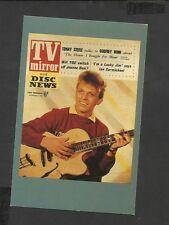 Nostalgia Postcard TV Mirror & Disc News Tommy Steele  1957