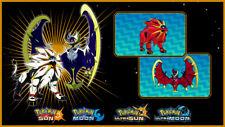 SHINY SOLGALEO + LUNALA EVENT Wunschwesen Pokemon Ultra Sonne Mond im Jubelball