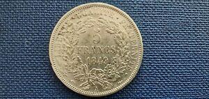France II° République 5 Fr Cérès 1849 A TTB