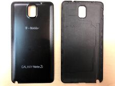 2X Battery Back Door Cover For Samsung Galaxy Note 3 Black w/ T-Mobile Logo