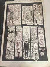 Lords of the Ultra-Realm Special #1  Page 18 Original Comic Art