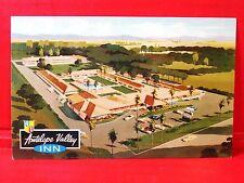 Postcard CA Lancaster Antelope Valley Inn