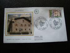 ANDORRE (francais) - enveloppe 1er jour 6/9/1980 (architecture) (cy63) andorra(Z