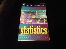Teach Yourself Statistics Second Edition by Alan Graham