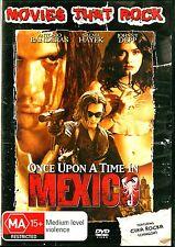 ONCE UPON A TIME IN MEXICO - Antonio Banderas Johnny Depp - Region 4 DVD
