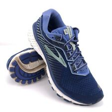 Brooks Ghost 12 Running Shoes Womens Size 8.5 EUR 40 Peacoat Blue Aqua Sneakers