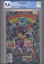 Wonder Woman #4 CGC 9.6 1987 DC George Perez Story, Cover & Art: New Frame