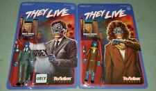 Super7 THEY LIVE Ghoul ReAction Action Figure Set Of 2