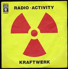 KRAFTWERK DISCO 45 GIRI RADIO-ACTIVITY B/W ANTENNA - ITA EMI 3C 006 82119