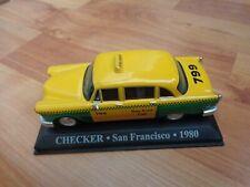 IXO ALTAYA 1/43 - CHECKER SAN FRANCISCO 1980 TAXI DIECAST MODEL CAR