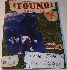 Found Magazine #4 September 2005 Come Into Our World