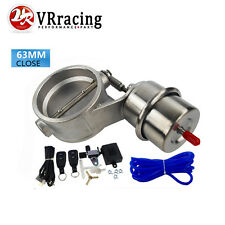 """Exhaust Control Valve With Vacuum  Actuator Cutout 2.5"""" 63mm Pipe complete set"""