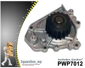Water Pump PWP7012 fits HONDA CRV RD1 2 2.0L DOHC B20B 10/97 - 11/01