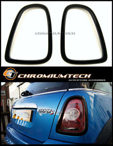 2nd Gen. MINI Cooper / S / ONE R56 Hatch R57 Cabrio R58 R59 BLACK Taillight Cove