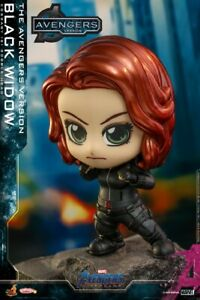 Stock Hot Toys COSB784  COSBABY Black Widow Bobble-head Figure Doll