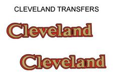 Cleveland Tank Transfers Decals D345