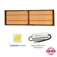 QUANTUM LED Light V3 250w+660nm,SAMSUNG LM301H 3.5k,HLG-240 Meanwell driver