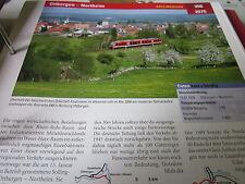 Archiv  Eisenbahnstrecken 356 Ottbergen Northeim Sollingbahn