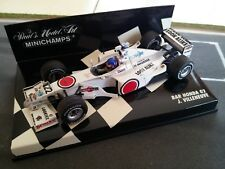 BAR HONDA 02 - #22 J. VILLENEUVE - MINICHAMPS - 1/43