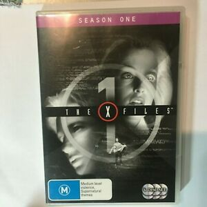 THE X FILES SEASON 1 - DVD 6 DISS - R4 - VGC