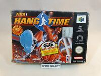 NBA HANG TIME JAM NINTENDO 64 N64 PAL EU EUR ITA ITALIANO GIG COMPLETO ORIGINALE