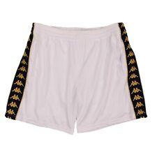 NWT FAITH CONNEXION x KAPPA White Mesh Side Logo Stripe Shorts Pants Size M $410