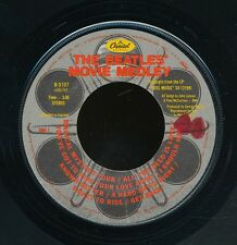 45bs-BEATLES-CAPITOL B-5107-Beatles' Movie Medley / I'm Happy Just to Dance with