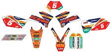 Kit Grafiche Adesivi In Crystal Per KTM EXC-SX-SXF 2003/2004/2005 Factory